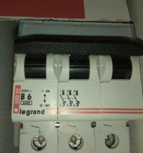 Автоматические выключатели legrand (класс В)