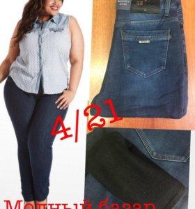 новые женские зимние джинсы