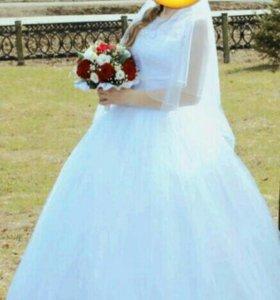 Платье свадебное очень красивое