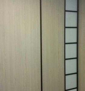 ДвериКУПЕ. Встроенные шкафы. Оплата по факту.