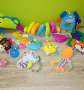 Игрушки малышковые мягкие