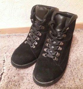 Ботинки кожа (новые)