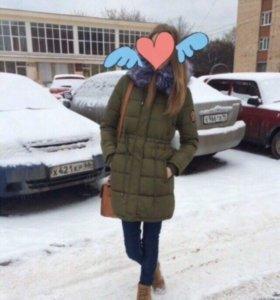 Куртка-парка зимняя с мехом