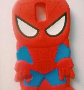 Чехол Человек-паук для Samsung GALAXY S5