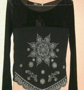 Новая Кофта Блуза с этикеткой. Размер S