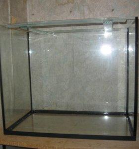 новый аквариум 105л.