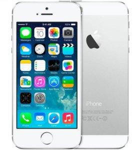 iPhone 5s серебристый 16Gb