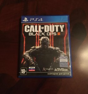 Call of Duty Black ops 3 на PS4