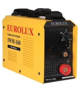 Инвертор сварочный Eurolux IWM-160 новый