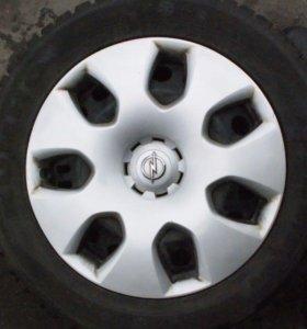 Шины с Дисками на Opel AstraJTC R17