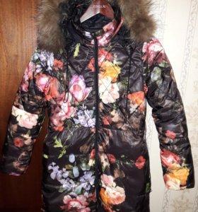 Продаю куртку зимную. Двухсторонняя. Гуливер.