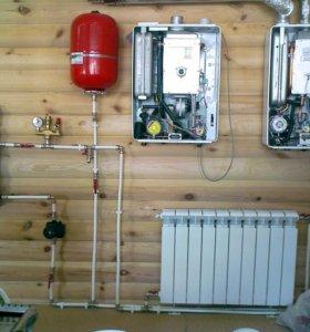 Монтаж отпления и системы теплый пол