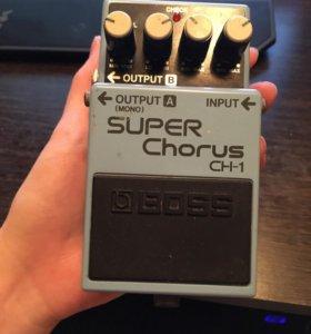 гитарная педаль boss super chorus ch-1