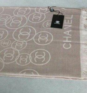 Палантин бежевый Chanel