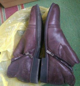 Продам зимние ботинки 43 размера