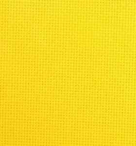Канва для вышивания желтая