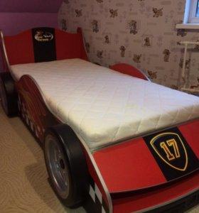 Детская кровать машина спальный гарнитур