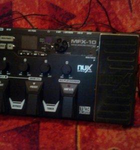 Гитарный процессор Nux Mfx 10