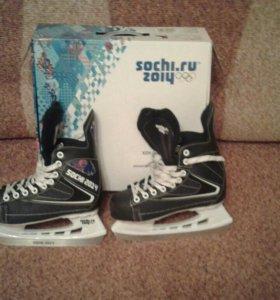 """Хоккейные коньки """"sochi 2014"""""""