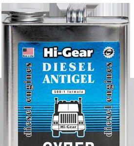 Антигель Diesel HI-GEAR 3429 3,78л на 1900л