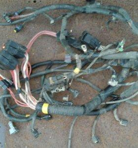 Электропроводка на систему управления Рено Дастер
