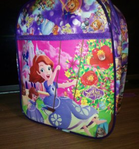 Новые рюкзачки для девочек принцесса София