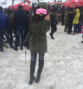 Зимняя куртка б.у