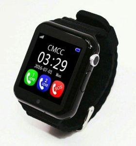 Умные часы V7 Детские GPS Гарантия Доставка