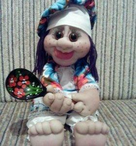 "Кукла ручной работы ""Поварёнок"" на заказ."