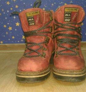 Ботинки . Теплые на зиму