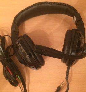 Новые наушники игровые с микрофоном Zalman ZM-HPS2