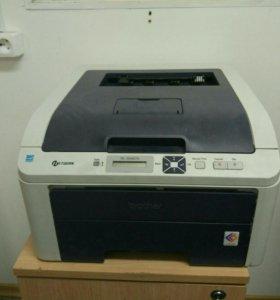 Цветной лазерный принтер brother hl-3040cn