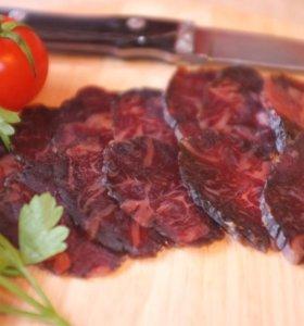 Вяленая конская колбаса