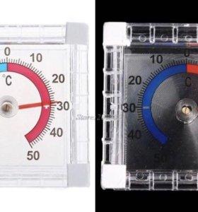 Биметаллический термометр на стекло