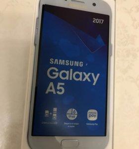Samsung A5 2017 blue