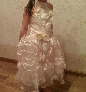 Платье на девочку 6 ти лет
