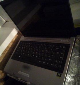 Ноутбук Roverbook Partner v550 не рабочий