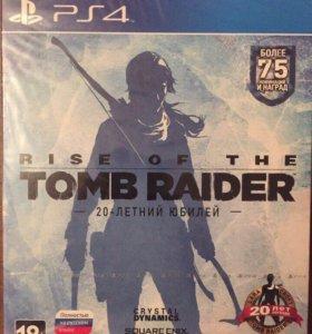 "PS4 диск "" Tomb Raider"" 20 летний юбилей"