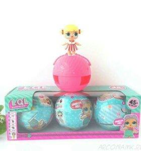 Набор кукол в шарике LOL surprise, 3шт