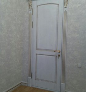 Двери с массива дерева