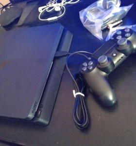 Новая PS4 Slim + 300 игр (все хиты) + ГАРАНТИЯ год