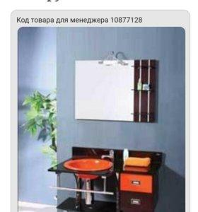 Новая красивая мебель в ванну