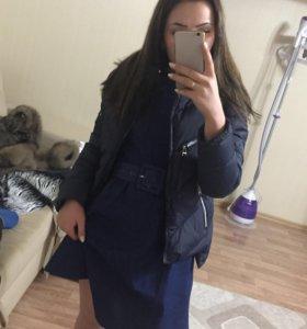 Новая зимняя куртка ЧЁРНАЯ