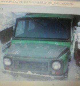 ЛуАЗ 969. 1990