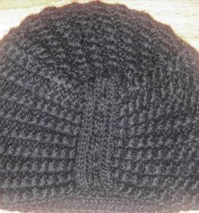 """Оригинальная шапка """"Чалма""""100% шерсть!Очень теплая"""
