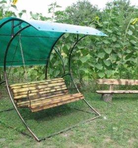 садовые качели,дачные