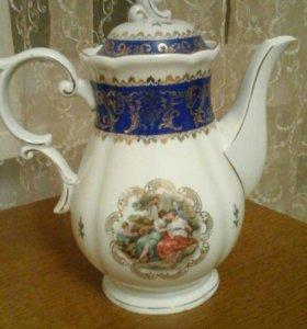 """Заварочный чайник от сервиза""""мадонны"""""""