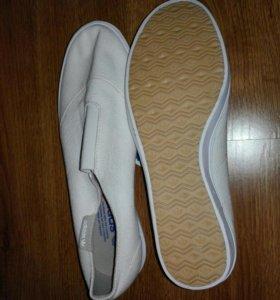 Новые мужские Слипоны кеды adidas