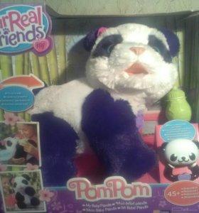 Интерктивная панда PomPom