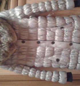Женское пальто-пуховик для беременных